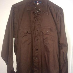 Texas Cotton Men's Western Shirt With Paisley
